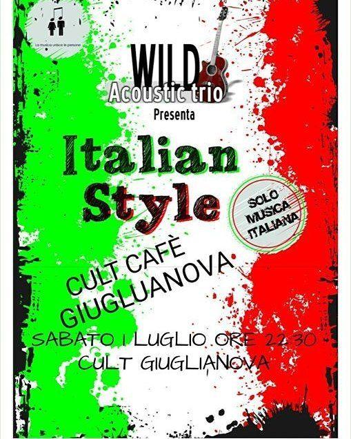 Wild Acoustic Trio⠀ CULT CAFE' - Giulianova | Eventi Teramo⠀ #eventiteramo #eventabruzzo⠀ #besties #bestoftheday #chill #chilling #cool…