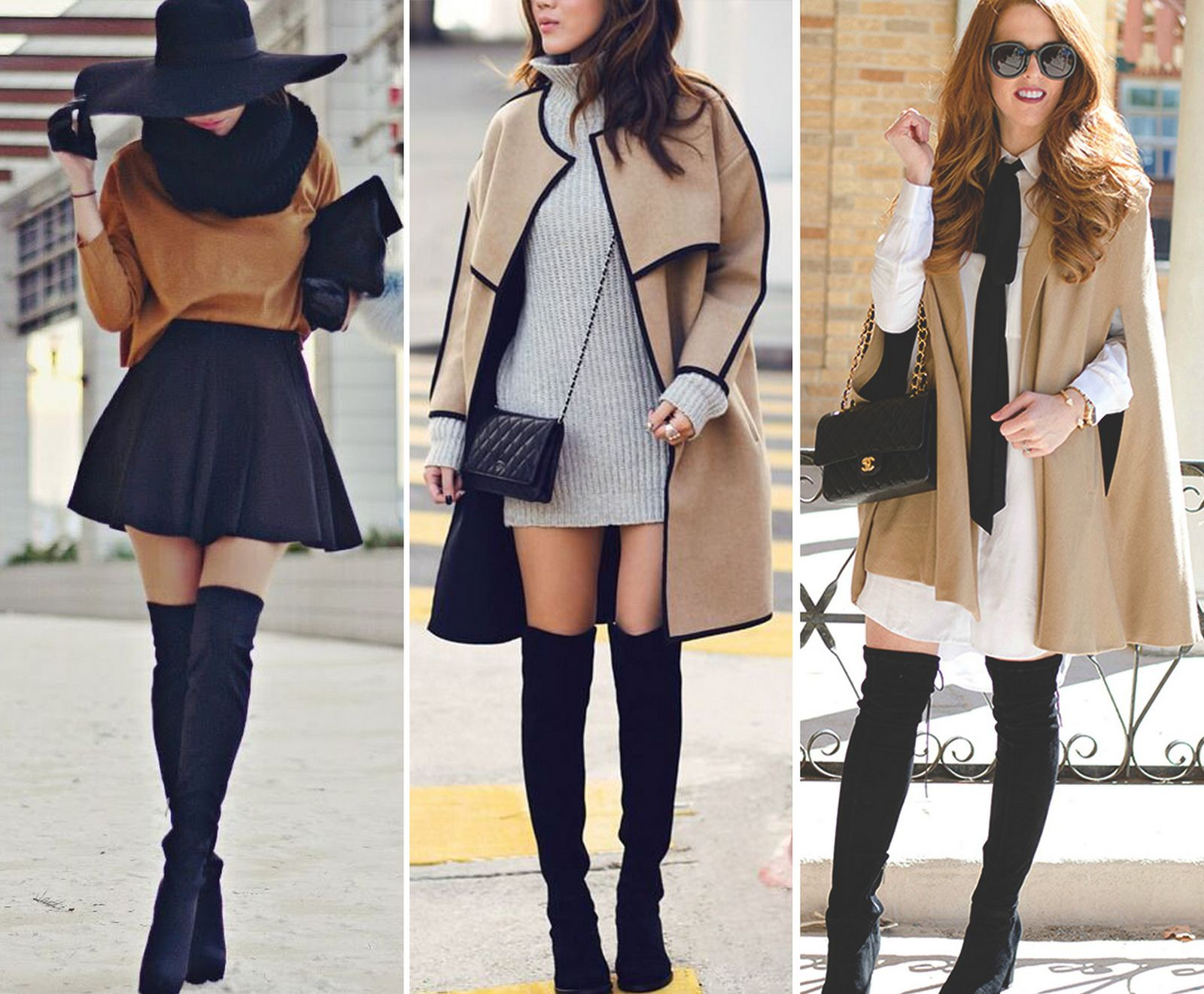 Fashion Over The Knee Boots