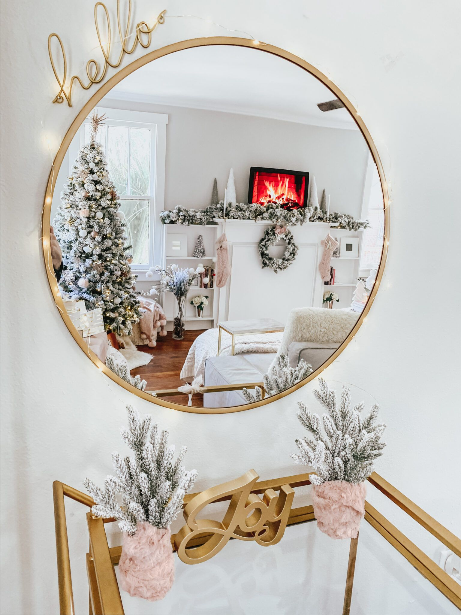 My Holiday Home Decor Tour + Video (With images) Holiday