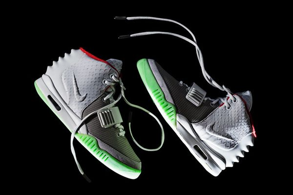 Nike Air Yeezy 2 combines Kanye's style with classic basketball high top influence.