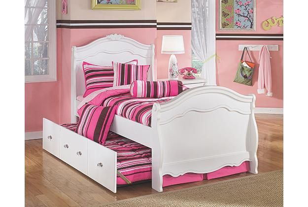 Exquisite Twin Trundle Bed Kids Beds Ashley Furniture Homestore Arkansas Largest Furniture Home Girls Bedroom Furniture Twin Trundle Bed Ashley Furniture