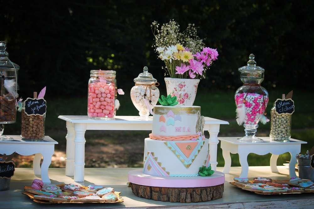 Boho Chic Birthday Party Ideas