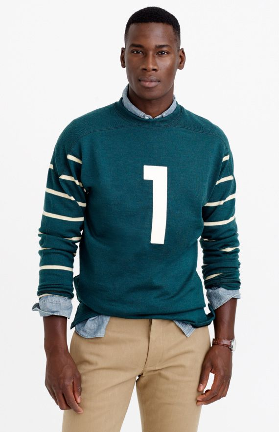 832f34f0533 Ebbets Field Flannels Vintage Knit Football Jersey Collection
