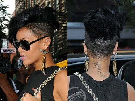 This Is Totally Happening This Fall Short Hair Styles Shaved Side Hairstyles Rihanna Hairstyles