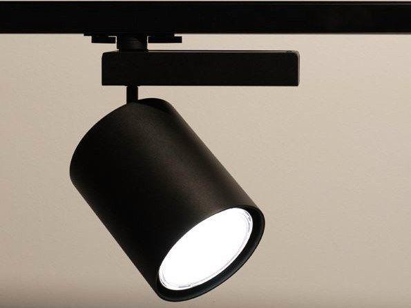 projecteur led de plafond sur rails bull 20 flexalighting track lighting led track lighting