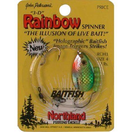 Northland Tackle Baitfish Harness #4 Yel Perc - RCH3-YR