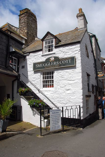 Smugglers Cott - Looe, Cornwall, South West England, UK