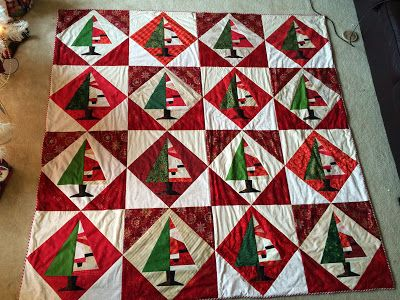 I Finished The Santa Baby Quilt From Buggy Barn Backed With Minky