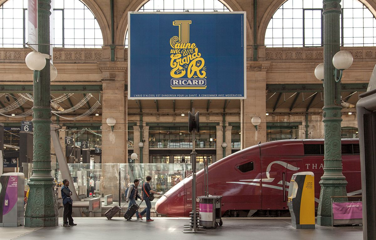 RICARD AD CAMPAIGN on Typography Served
