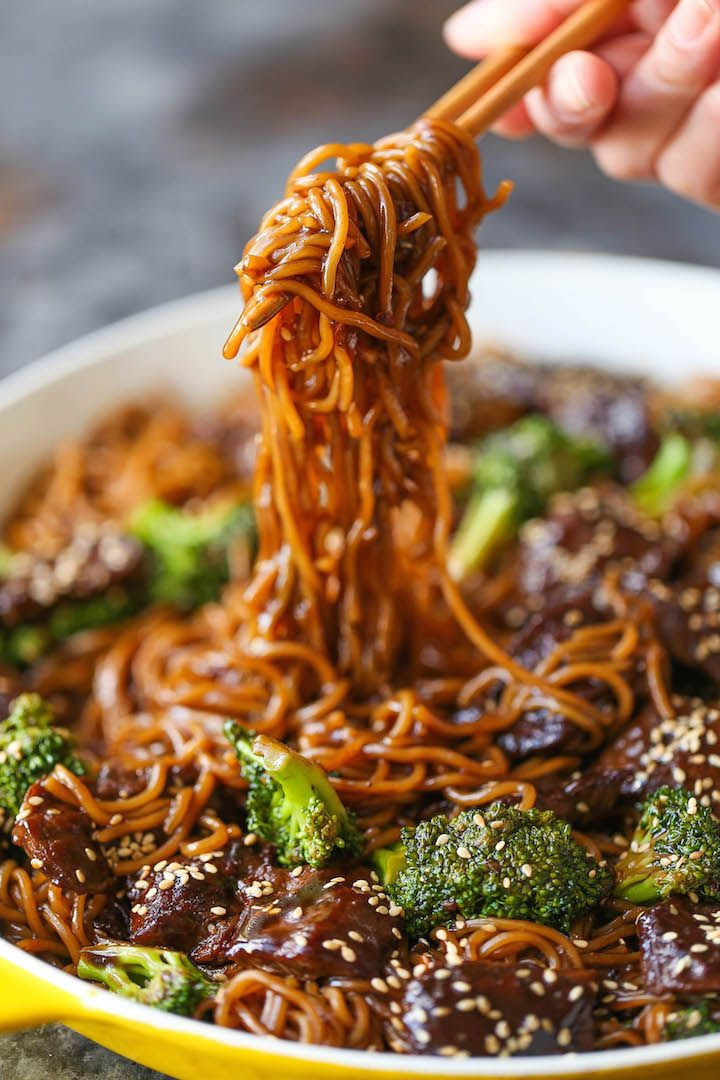Photo of Beef and Broccoli Ramen Stir Fry