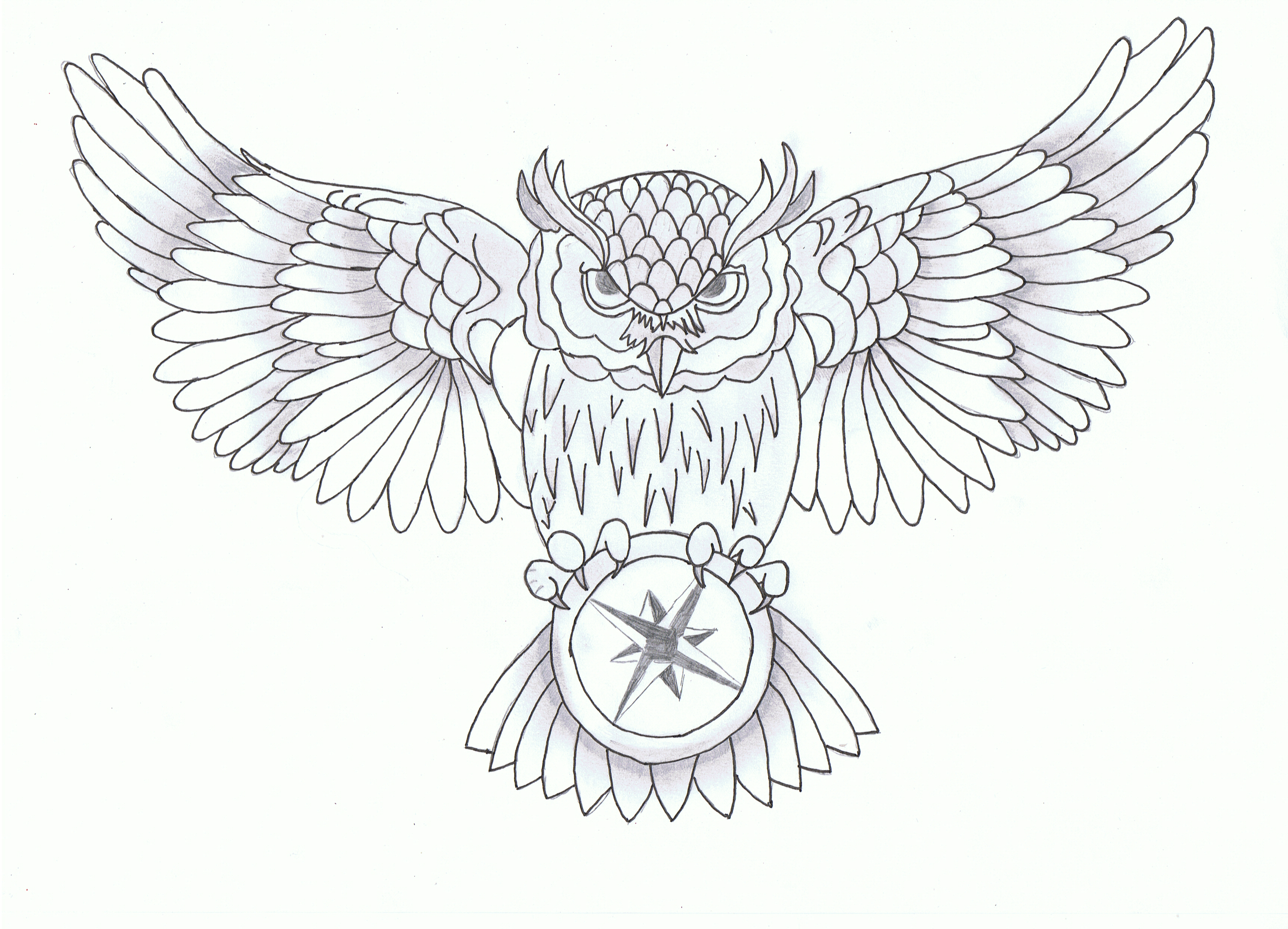 Owl 2 By Maikelj D6fz4f0 Png 3 437 2 480 Pixels Chest Tattoo Drawings Owl Tattoo Drawings Owl Tattoo