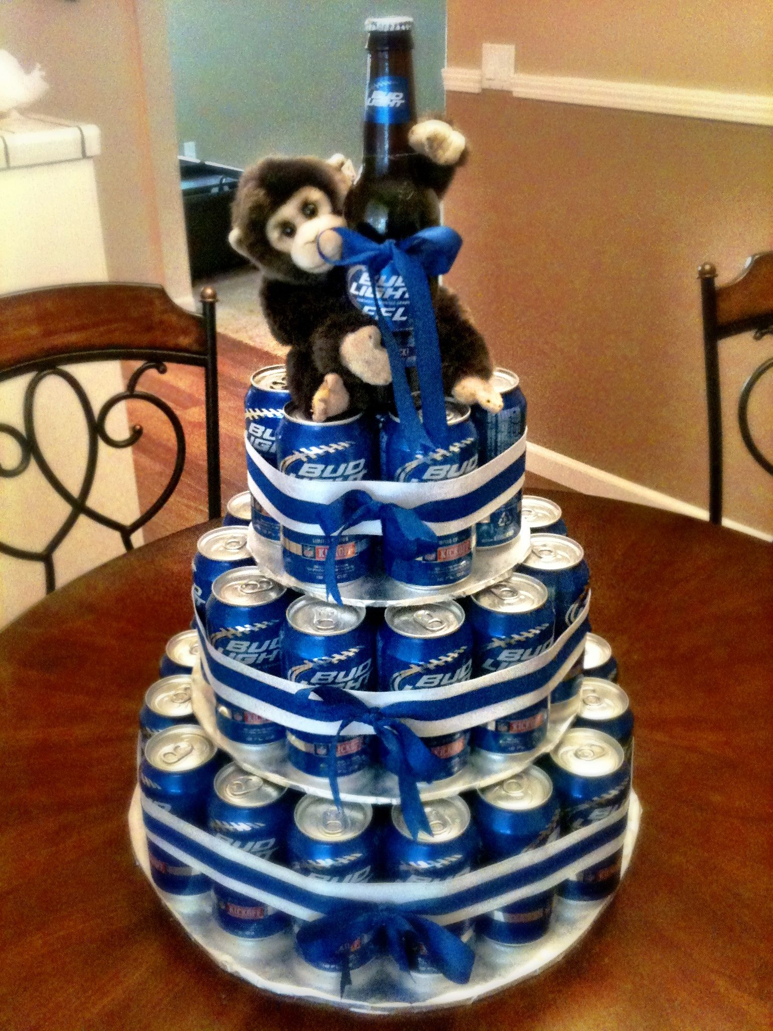 How To Make Alcohol Cake Tower