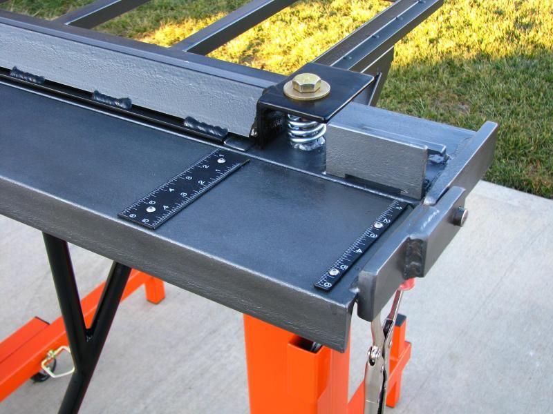 Latest Project Sheet Metal Brake Sheet Metal Brake Metal Fabrication Tools Sheet Metal Tools