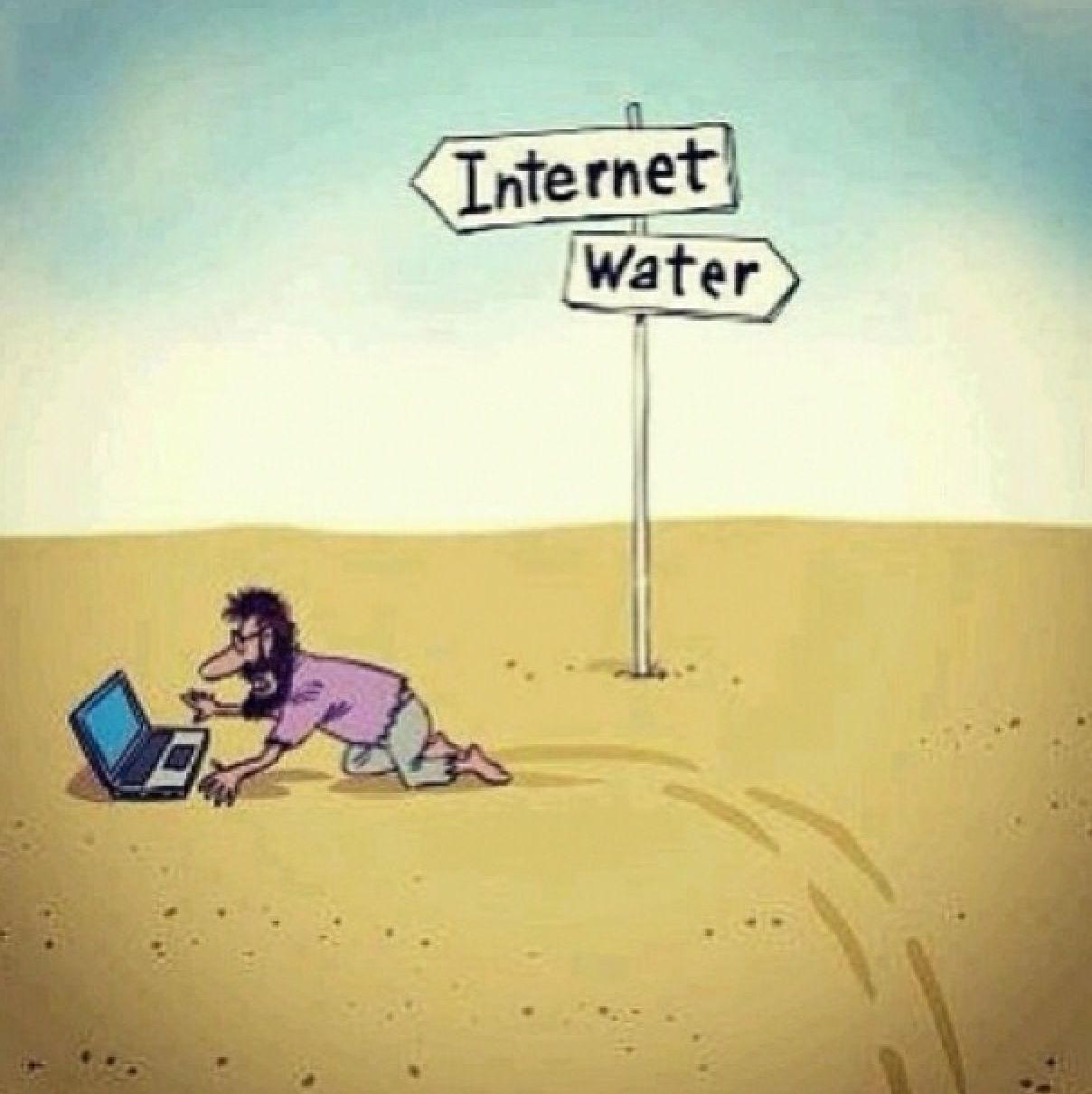Satirical Illustrations That Show How Weve Become Addicted To - 22 brutally honest images that sum up how technology is changing our lives