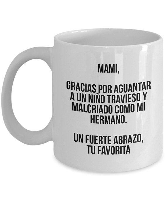 Items similar to Birthday Gift Regalo Para Mama Gift for Mom Regalos Para Mamas Mami Madre Mexico Mexican Mom Gift Spanish Gifts Espanol Latino Latina on Etsy
