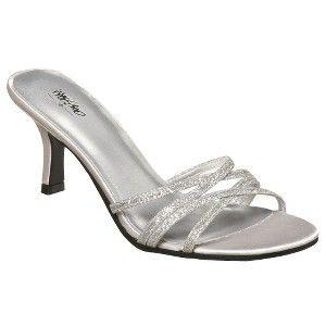 Target Mobile Site - Women's Mossimo® Halle Glitter Sandal - Silver