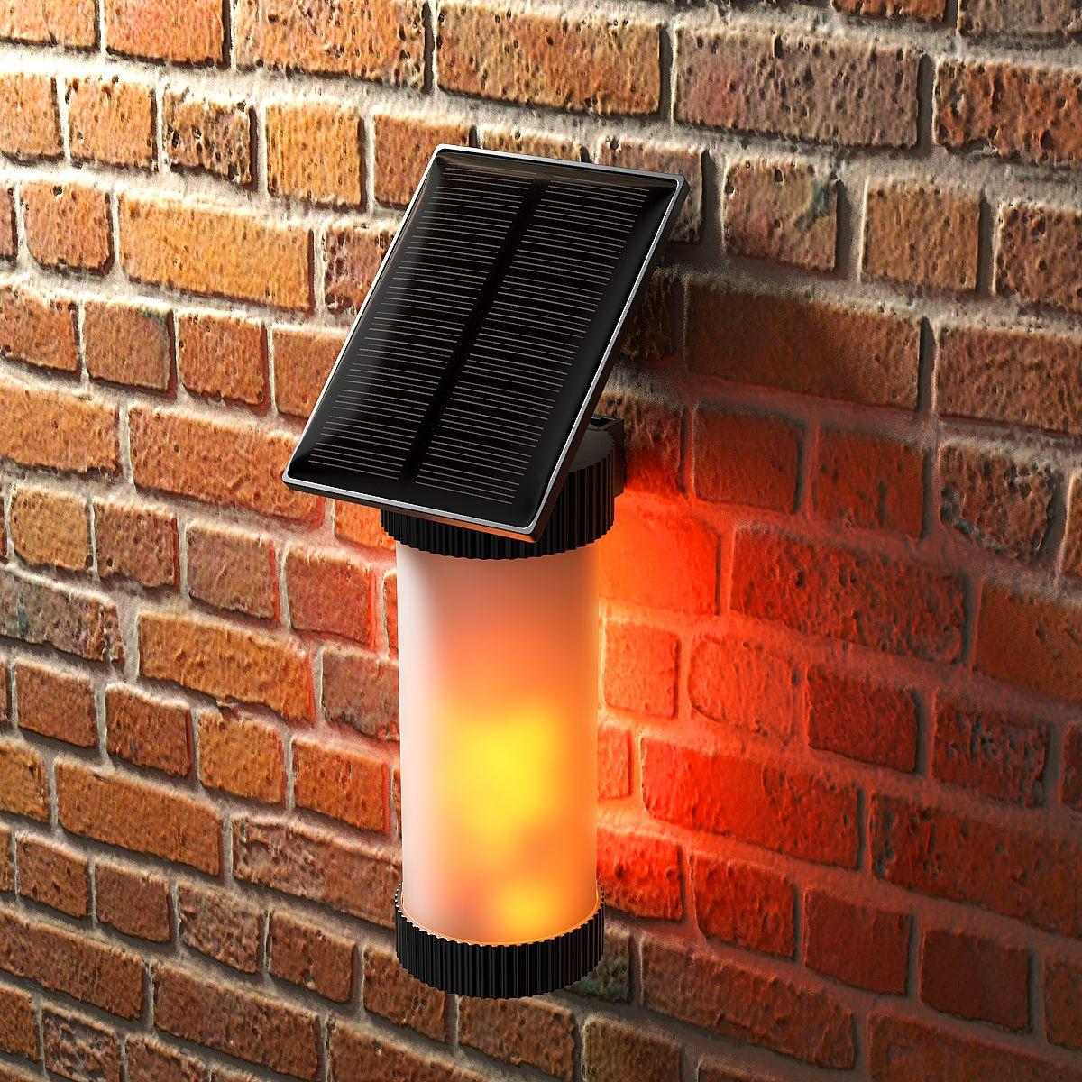 Mojidecor Solarleuchten Flamme Lampe Gartenleuchten Flackernde Wasserdicht Ip65 Solar Aussenleuchte Flammenlicht Solarleuchten Solar Aussenleuchte Gartenleuchten