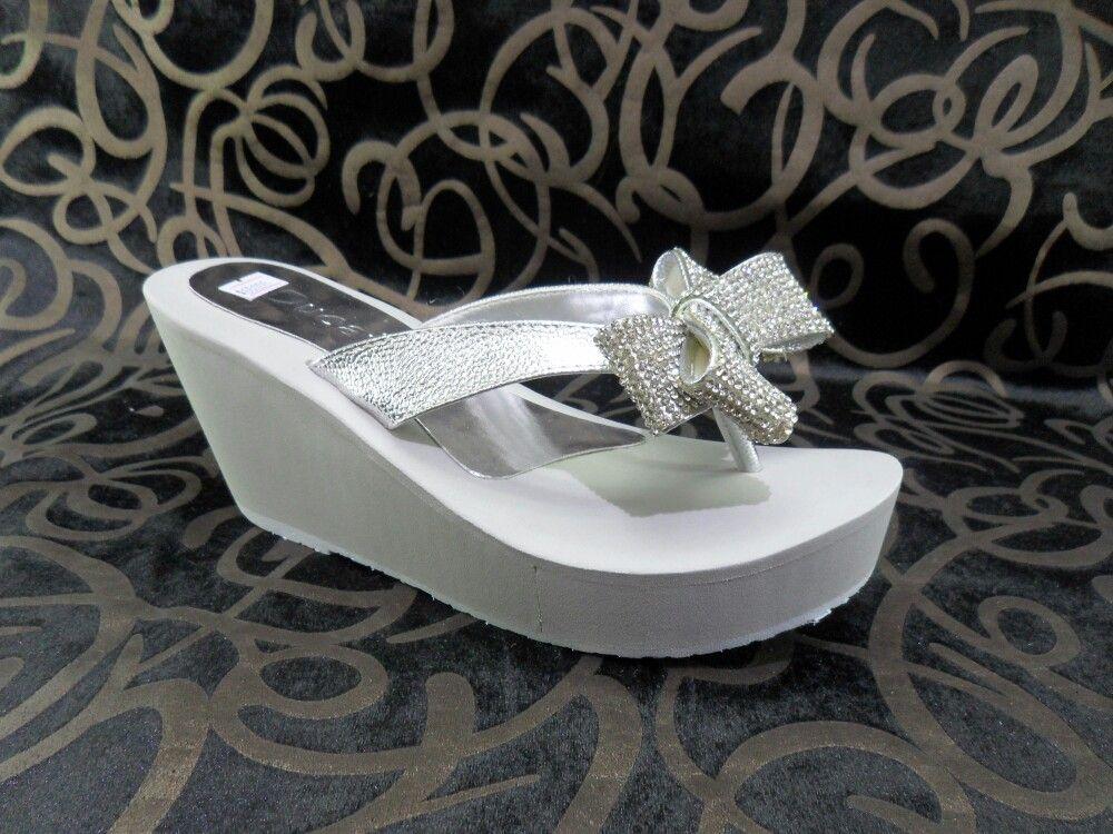 Sandalia plataforma dama