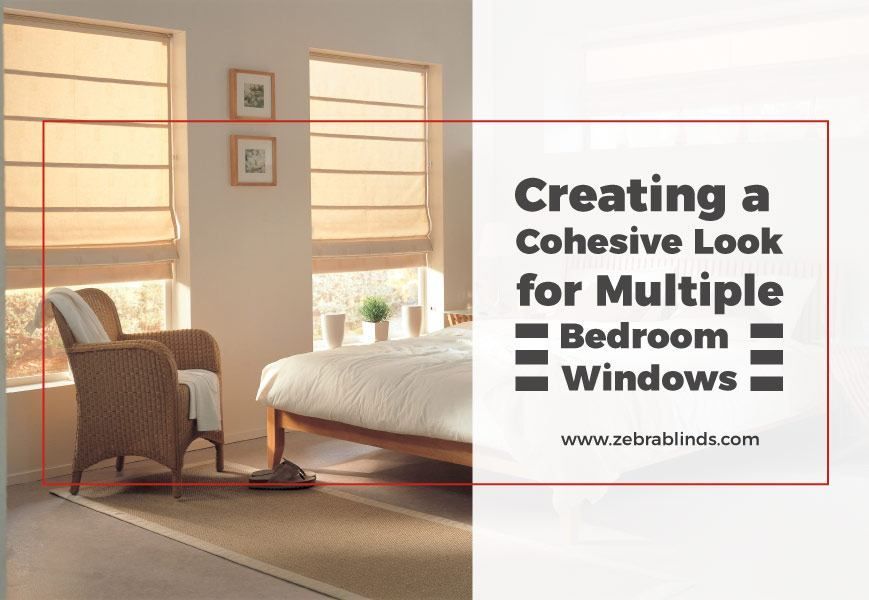Creating a Cohesive Look  Multiple Bedroom Window Ideas is part of bedroom Window Coverings - Let us find the perfect multiple bedroom window ideas for you that boast the best of both worlds efficiency and attractiveness  Free Shipping and Samples