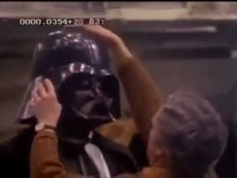 Star Wars David Prowse Suiting Up As Darth Vader A New Hope Behind The Scenes Youtube Star Wars Fans Star Wars Star Wars Film