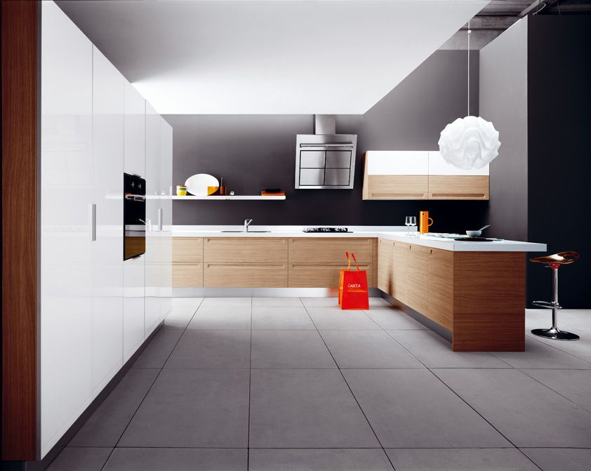 Frida in rovere chiaro. Frida in light oak. #Cesar #Cucine #Kitchens ...