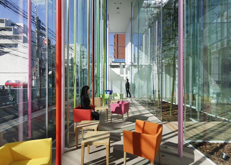 Good Sugamo Shinkin Bank, Ekoda With Coloured Sticks By Emmanuelle Moureaux Awesome Design