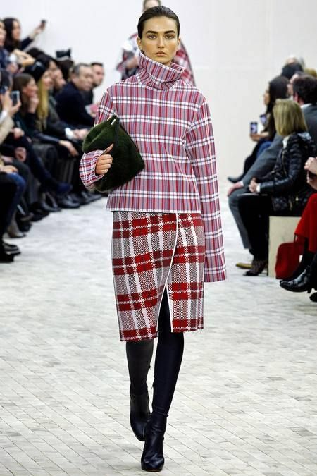 Mad for Plaid: Céline fall 2013