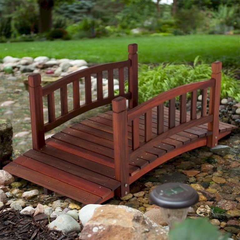109+ Beautiful And Delightful Garden Bridge Ideas