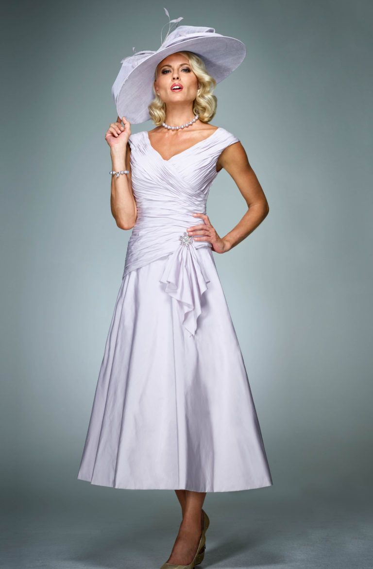 Wedding dress wrap  Full length dress with matching wrap ISL  Full length dresses