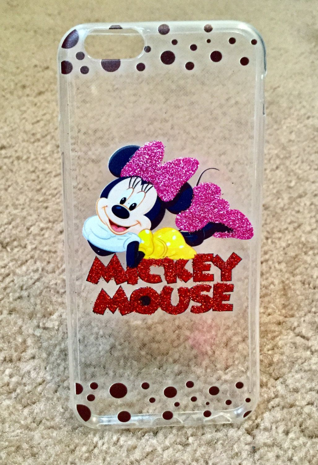 premium selection 7caca 913af Minnie mouse i phone 6 phone case, Mickey, Minnie, Disney phone case ...