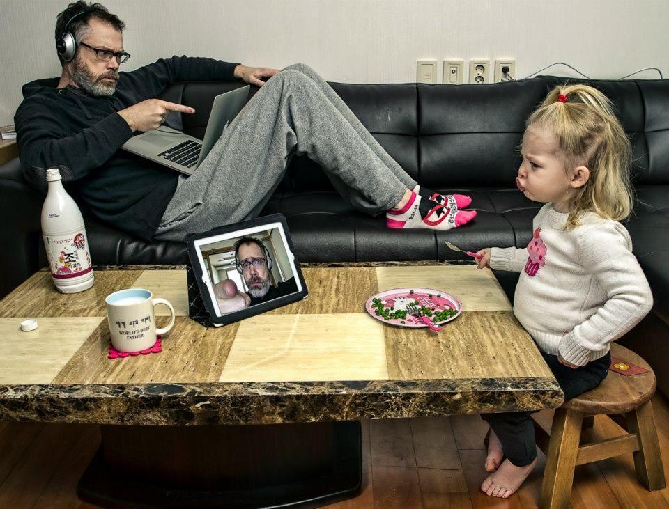 Папа и дочка веселые картинки