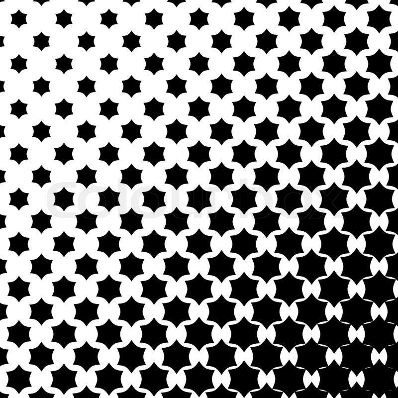 Stock Bild von \'Sterne -Muster in Schwarz-Weiß- Ton\' | Bilder und ...