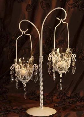 Tabletop mini chandelier ce table centerpiece 1345 wedding tabletop mini chandelier ce table centerpiece 1345 aloadofball Images