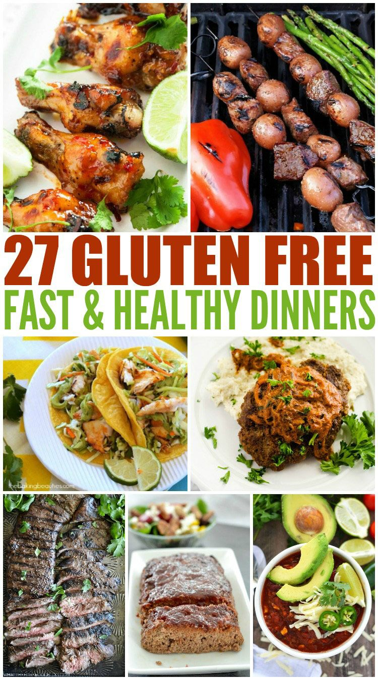 27 Fast & Healthy Gluten Free Dinners - Wendy Polisi