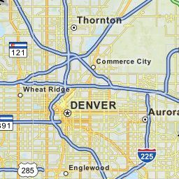 Interactive Maps with Denver demographics, zip codes, and more | New ...
