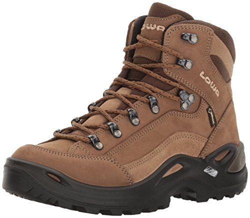 Lowa Women's Renegade GTX Mid Hiking Boot,Taupe/Sepia,8 M..