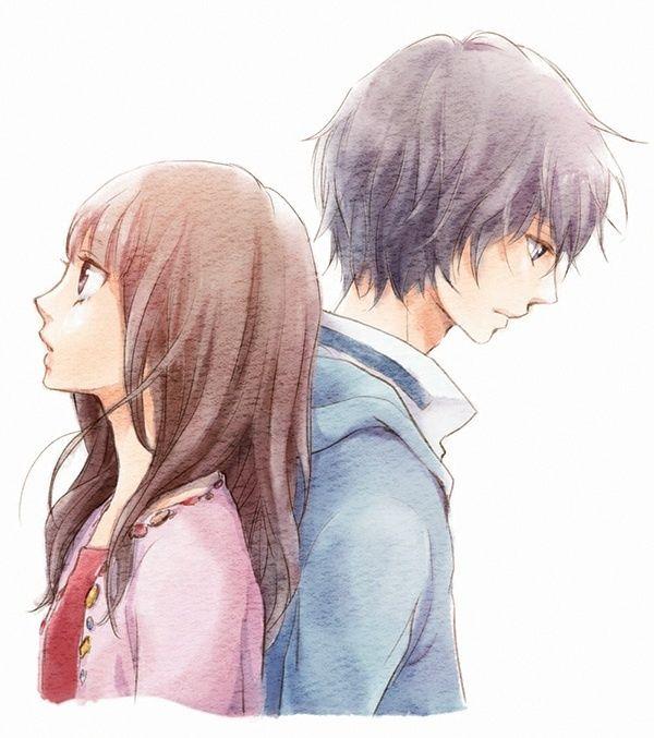 Boy Girl Romantic Sad Love Anime