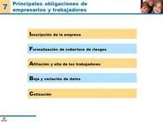OBLIGACIONES DE EMPRESARIOS Y TRABAJADORES (I)