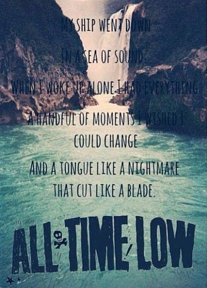 Therapy by All Time Low. The song that has changed lives and ...