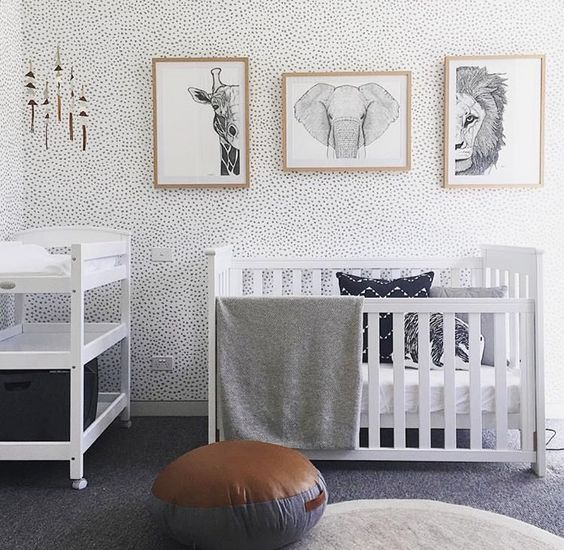 16 Irresistible Neutral Nursery Designs That You Must See Baby