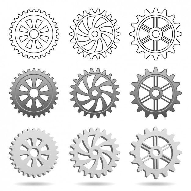 Kola Zebate Darmowych Wektorow Free Vector Freepik Freevector Bieg Mechanik Maszyna Narzedzi Engranajes Engranajes Dibujo Engranes