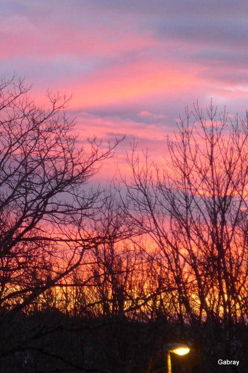 Le Ciel Du Matin Paysage Coucher De Soleil Paysage Ciel Photographie De Coucher De Soleil
