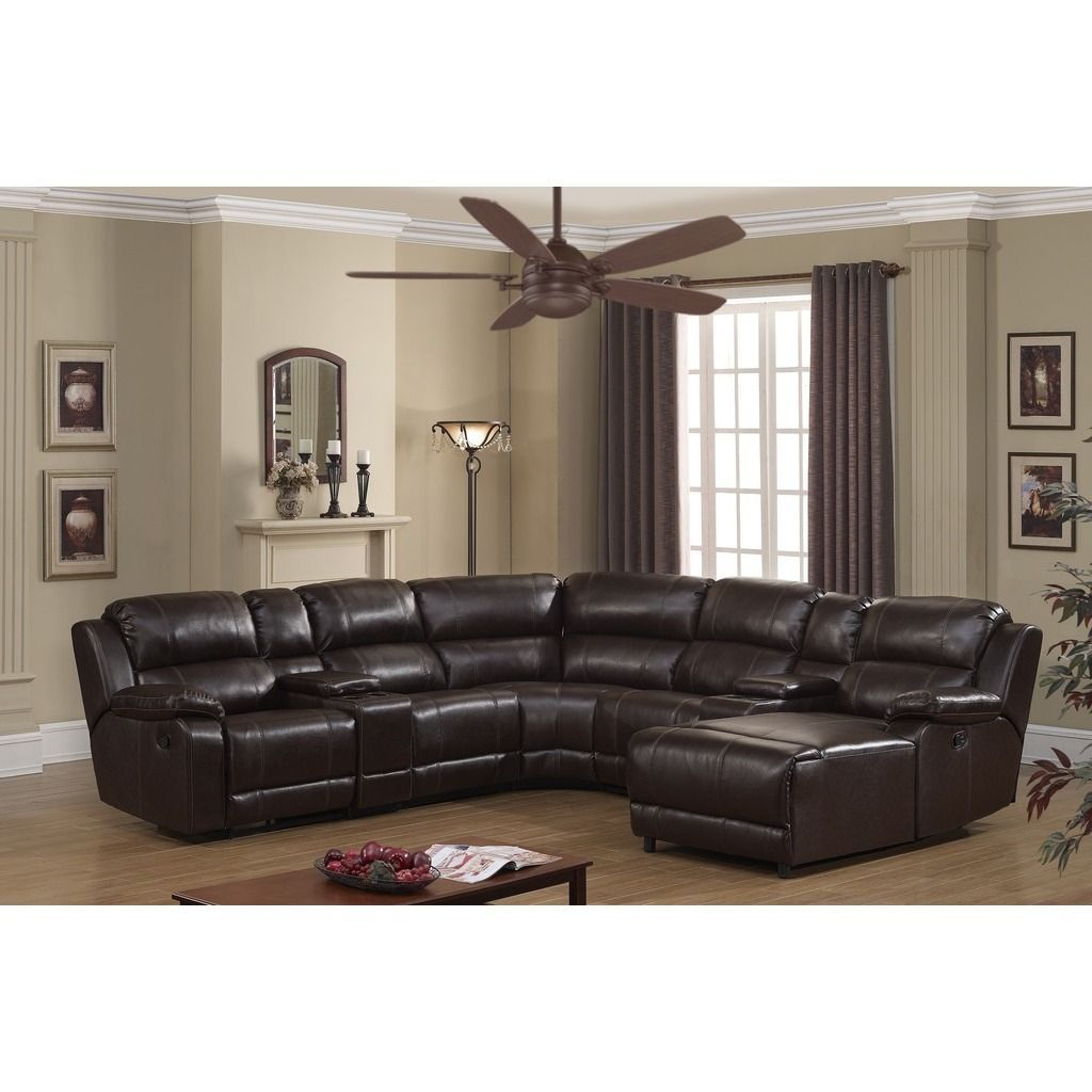 Remarkable Relax In Comfort With This Reclining Sectional That Allows Pabps2019 Chair Design Images Pabps2019Com