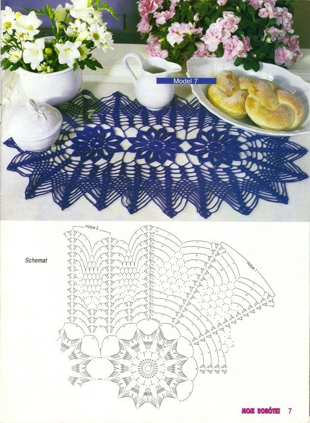 Pin von Dianna Crawford auf Crochet doilies | Pinterest ...