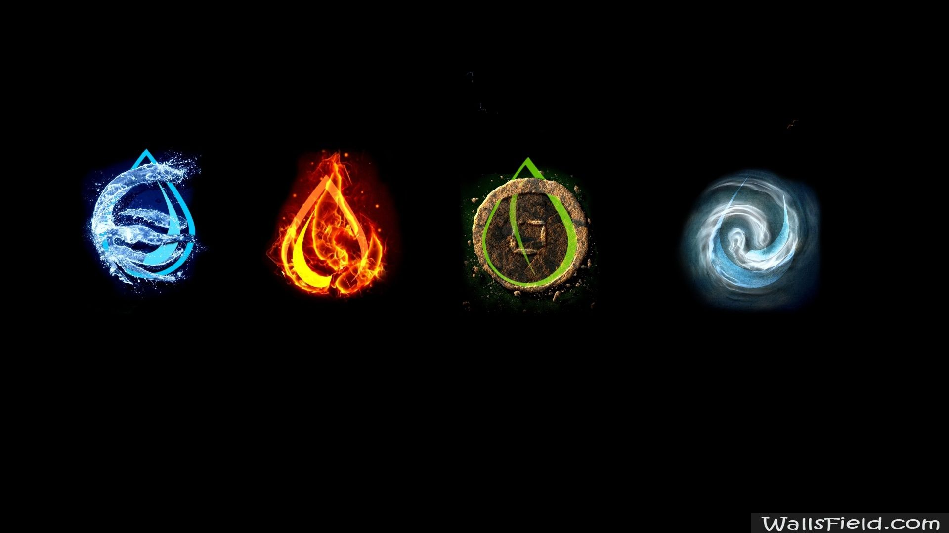 the four elements The four empedoclean elements replacing the traditional heptad are,  nevertheless, considered emanations from the endless light through fire, the  embodiment.