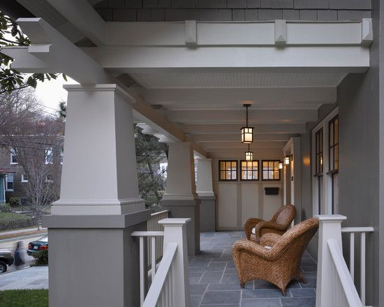 The Bungalow Makes A Front Porch Feel Like Another Room