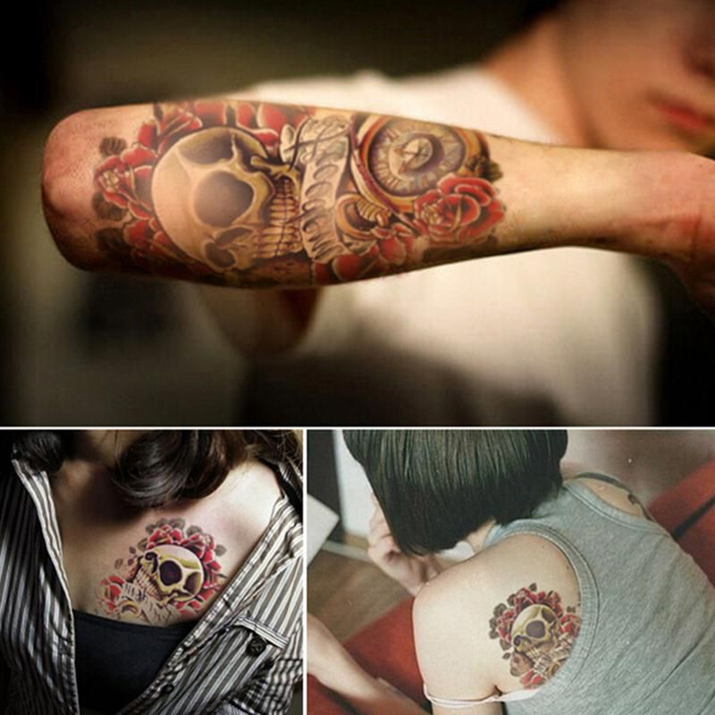Skull Tattoo Price 6 49 Free Shipping Tattoodesigns
