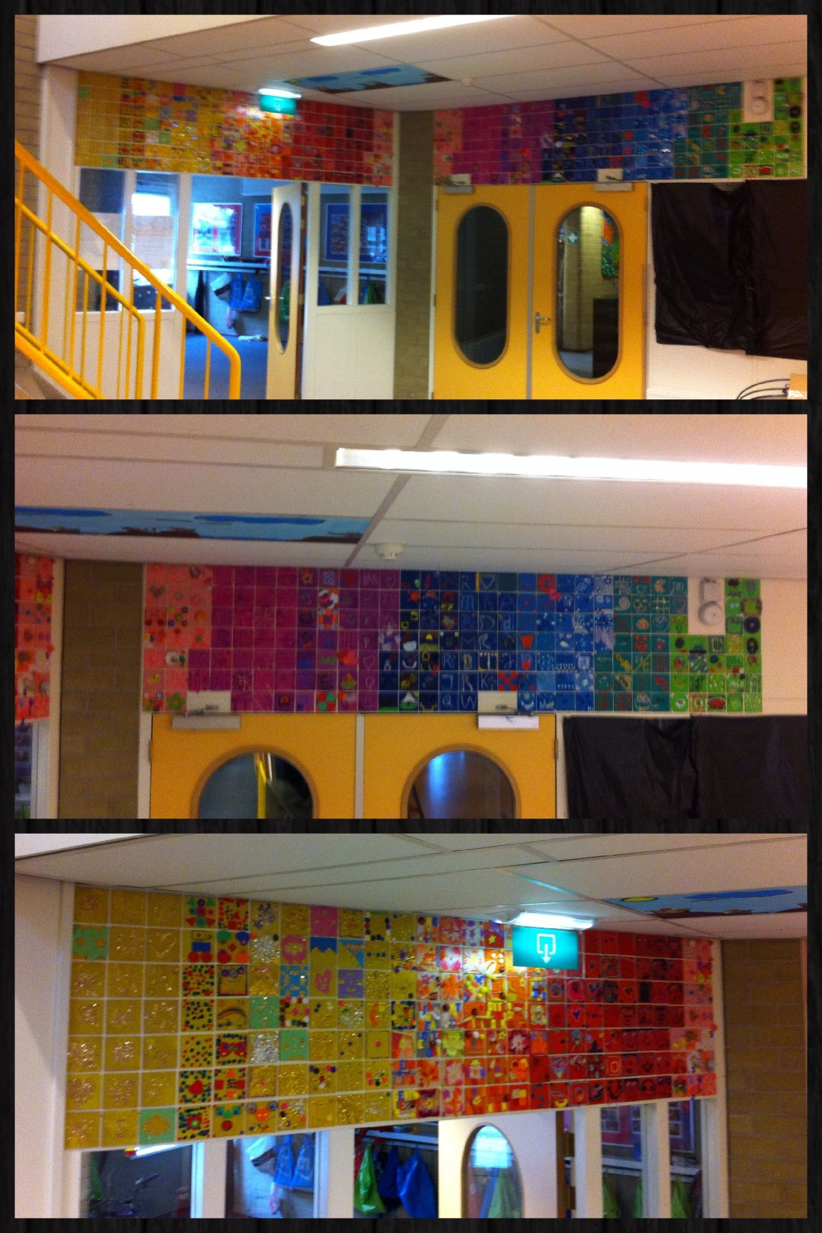 Artwork with the whole school - 35 year anniversary | Aniversario ...