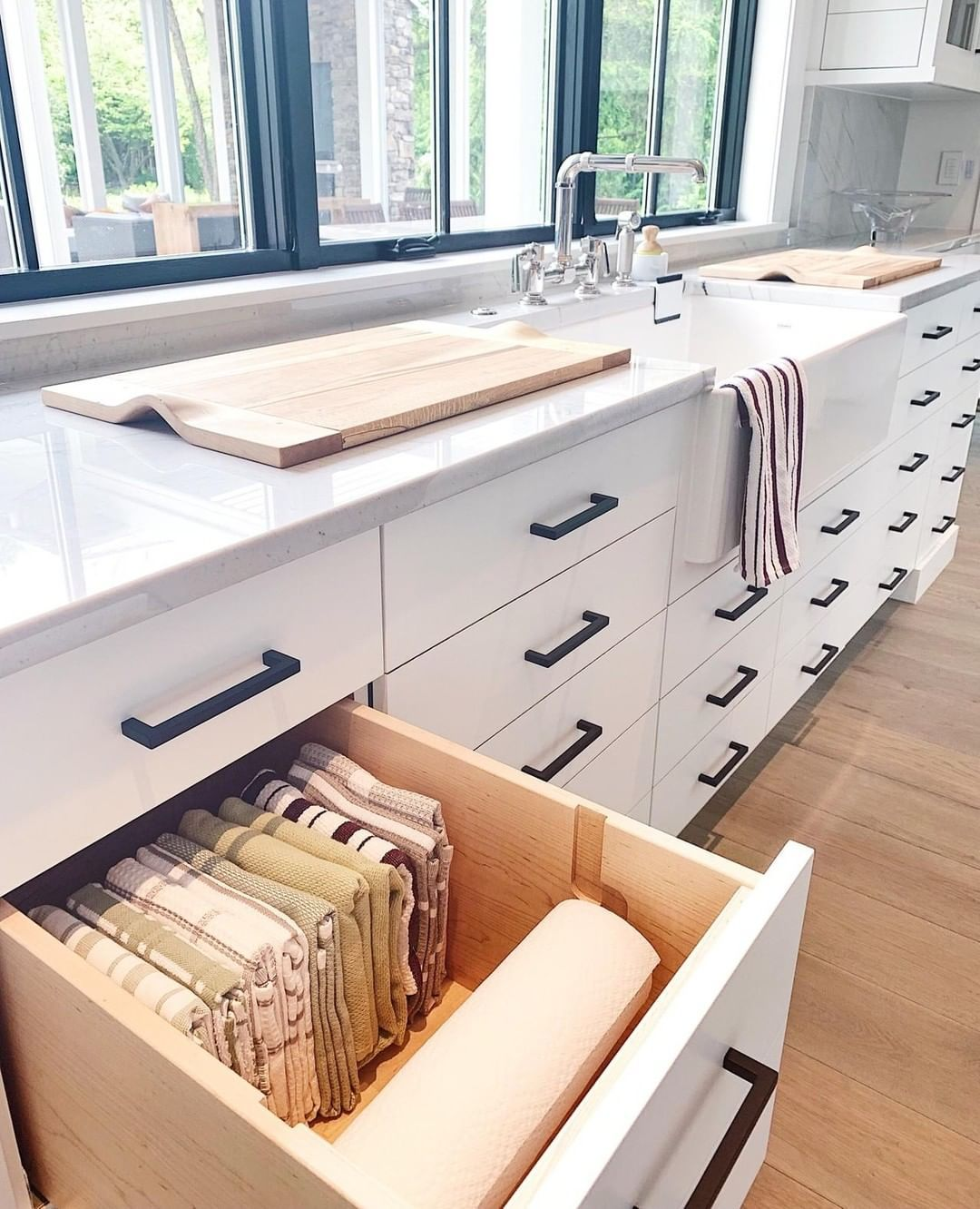 Neat Method On Instagram Another Genius Kitchen Idea From A Client S Home A Built In Paper Towel Paper Towel Holder Kitchen Remodel Kitchen Inspirations