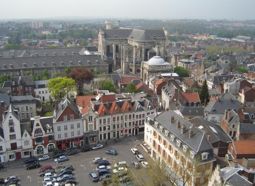 Arras Nord Pas De Calais France City Centre France City